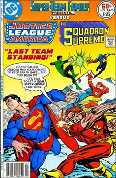 STF: Justice League of America vs The Squadron Supreme - part 01