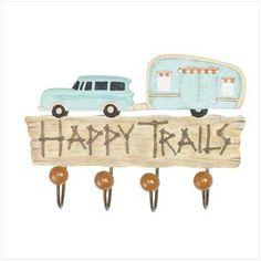 Shop Jackalope Store Online Shop - HAPPY TRAILS WALL HOOK - Multiply Marketplace USA