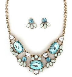 Danika Necklace in Morning Blue-  So gorgeous!