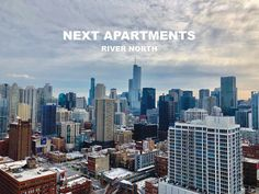 360 degree panoramic views of downtown Chicago from NEXT Apartments. Luxury Apartments, San Francisco Skyline, New York Skyline, Chicago, River, Apartments, Rivers