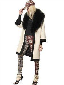 Fausto Puglisi - Wool Crepe Caban Coat   FashionJug.com