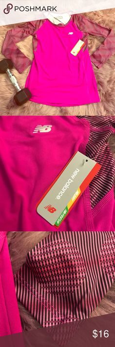 🆕New Balance Dry 🤸🏻‍♂️ Athletic Top 🤸🏻‍♂️ Your little one will love this New Balance athletic top! This top is made from drying/ odor resistant polyester/ spandex blend. This item is new and comes with the original tags.   💖 Thank you for visiting my closet💖  🛍 Bundle and save 20%!! 🐙 This item comes from a pet- free home 🚭This item comes from a smoke- free home 🤔 Please feel free to contact me with questions🤗  ❤️💜💙 Happy Poshing💙💜❤️ New Balance Shirts & Tops Tees - Long…