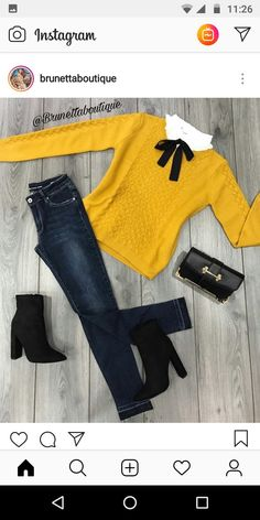 Trendy style jeans hiver 15 Ideas - Source by margo_kuznetsov - Jean Outfits, Fall Outfits, Casual Outfits, Cute Outfits, Casual Jeans, Look Fashion, Trendy Fashion, Winter Fashion, Fashion Outfits