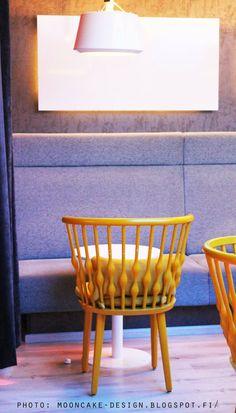 beautiful chair from viking grace Mooncake, Vikings, Chair, Wood, Furniture, Beautiful, Design, Home Decor, Homemade Home Decor