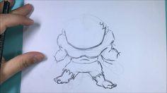 Como desenhar o Hulk Chibi (Marvel)