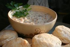 Bob Evans Sausage Gravy (Copycat) from Food.com:   This is a hearty breakfast favorite. Biscuits served with hot sausage gravy are a sure way to stay satisfied until your next meal.  Wonderful Sausage Gravy that has been posted by Bob Evans.