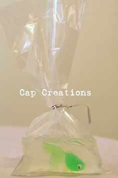 Fish in a Bag Soap Tutorial - cute party favors for a pool party