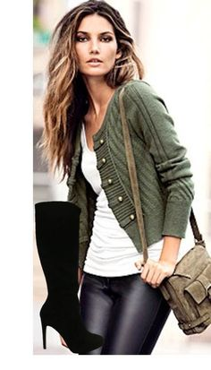 I love everything about this cardigan - the color, the buttons...everything