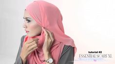 Shawlbyvsnow : Hijab Tutorial 2 with VS Essential Scarf XL