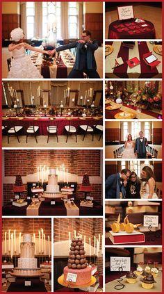 Harry Potter Wedding - Hogwarts Dining Hall Reception - Wedding Details 2014