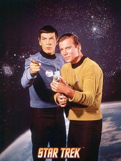 Star Trek: The Original Series, Captain Kirk and Spock Posters na AllPosters.com.br