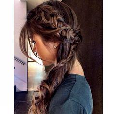 """""""#amocriar #cabelos #cabelosolto #cabelopreso @1838salao"""""""