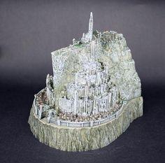 Senhor dos anéis filme Minas Tirith cidade 14 CM Gondor LR0009 Capital o Hobbit com caixa Original em Ação e personagens de Brinquedos & Lazer no AliExpress.com | Alibaba Group