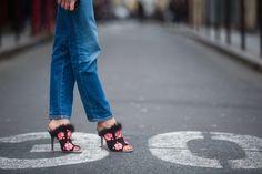 Street Style Shoes and Bags at Paris Fashion Week Fall 2015 | POPSUGAR Fashion