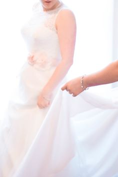 Free Flowing Bridal Gown