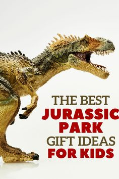I'm so excited about these Jurassic Park gift ideas for kids! Everything from dinosaur toys from the Jurassic Park Dinosaur Gifts, Dinosaur Toys, Dinosaurs, Jurassic World Movie, Jurassic Park Toys, Rainy Day Activities, Craft Activities For Kids, Lego Junior Sets, Parenting Toddlers