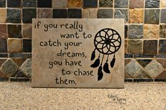 9x12 If you really want to catch your dreams, Girlfriend Gift, Friendship Gift, Teen gift,Daughter gift, Inspirational Gift, Son Gift by LettersbyLaurie on Etsy