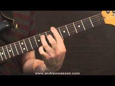 Slow-Blues Shuffle Guitar Licks