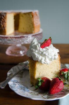 Gluten Free Chiffon Cake perfect Summer get togethers!