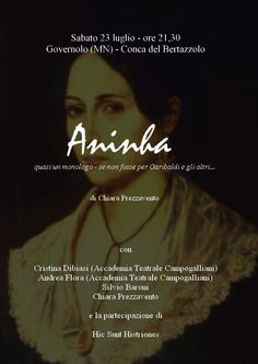 Aninha - as in Garibaldi's wife