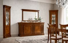 Dall'Agnese | Tiffany Noce #sideBoard #classic #solidWood  #interior