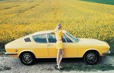 Audi 100 Coupe S. @Deidra Brocké Wallace - yellow car