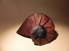 Origami Nautilus by all things paper, via Flickr