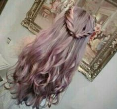 Pink Granny Hair?!?! Maybe I could pull that off..