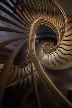 Atmos Studio Creates StairStalk Staircase For Hide Restaurant In London