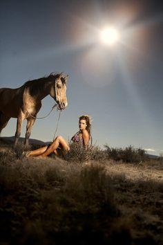 Fancy Farmgirl #cowgirl #horse