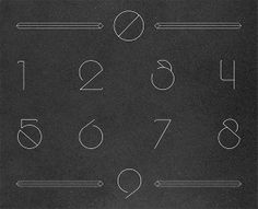 Obvious Typeface by Franklin Veiga, via Behance