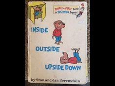 """Great for parents that want books read to their kids and don't have time, or just want a break!!! ha Story Time """"Inside Outside Upside Down"""" Kids, Fun, Books, Learning! This Channel has tons of books!"""