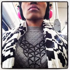 Commuter Chic .  Jewelry from Prismatik by Inobe Nicole