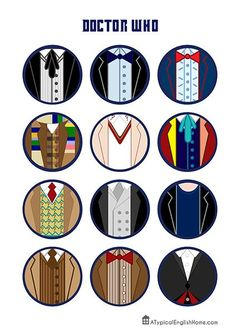 A couple of months ago I shared a printable Doctor Who TARDIS , and I promised that there would be more printables to come. Better late t. The Doctor, Doctor Who Tardis, Tenth Doctor, Female Doctor, Doctor Who Birthday, Doctor Who Party, 16th Birthday, David Tennant, Sherlock