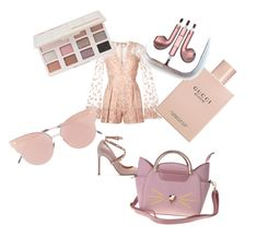 """Untitled #101"" by teodora-siran on Polyvore featuring Zuhair Murad, Valentino, Gucci, Too Faced Cosmetics, So.Ya and PhunkeeTree"