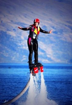 Flying like a superhero in @PureQueenstown ! Sooo much fun! @Pure New Zealand #nzmustdo #queenstownlive #FlyBoard #nz pic.twitter.com/PM1jvt541m