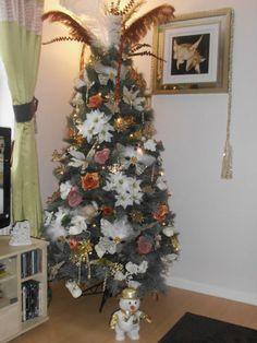 Mask decorated Christmas Tree