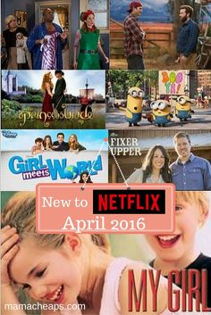 Shows and Movies New to Netflix for April 2016 #StreamTeam