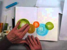 ▶ Balance with Gelatos Art Journaling Feature with Shari Carroll - YouTube