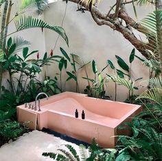 Home Interior Living Room .Home Interior Living Room Cheap Home Decor, Diy Home Decor, Pink Bathtub, Pink Tub, Home Design, Interior Design, Design Ideas, Design Art, Outdoor Bathrooms