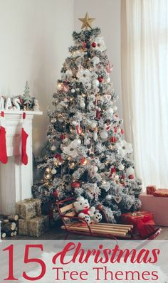 190 best christmas tree themes images christmas tree christmas rh pinterest com