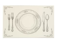 Cake Kitchen table placemats