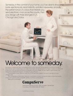 Compuserve circa 1982...I have yet to play bridge with someone in LA, Chicago and Dallas...