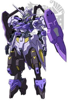 Front Gundam Flauros, Gundam Bael, Gundam Vidar, Arte Gundam, Robot Concept Art, Robot Art, Barbatos Lupus Rex, Blood Orphans, Robot Monster