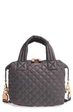 7bd3f494cff MZ Wallace  Small Sutton  Quilted Oxford Nylon Crossbody Bag available at   Nordstrom Nylon