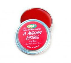 A Million Kisses - highly pigmented lip stain by LUSH. I love anything LUSH, I've gotta try this.