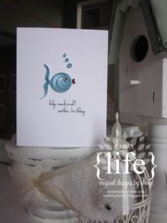 Paper quilling fish  --- omg I love this