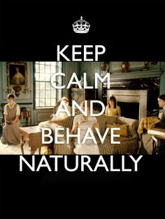 Pride and prejudice. Best keep calm I have ever seen!!