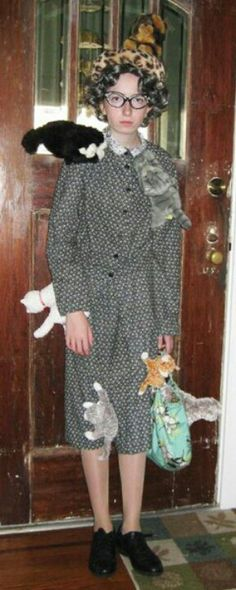 Cat lady costume, LOL