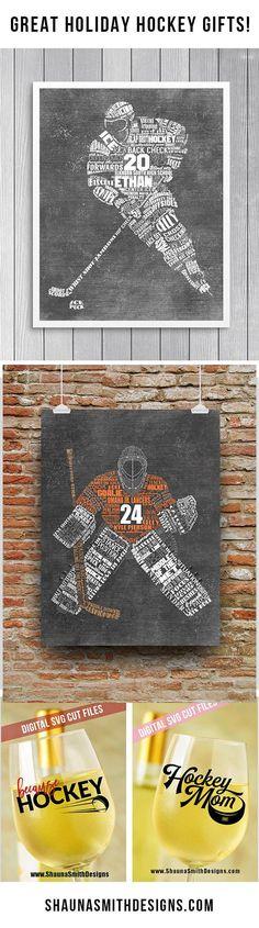 HOCKEY Gifts Hockey Coach Gift PERSONALIZED Hockey Wall Art